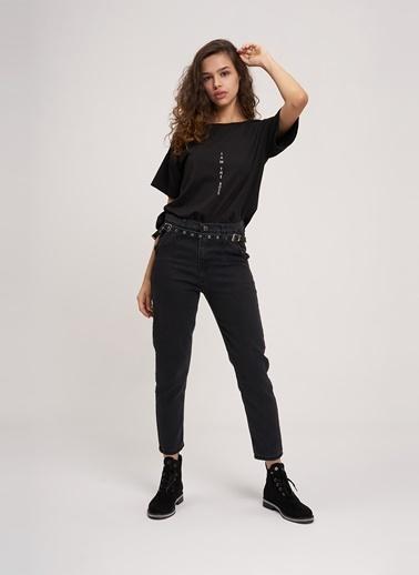 Mizalle Pantolon Siyah
